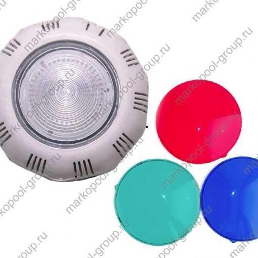 Прожекторы из белого ABS пластика